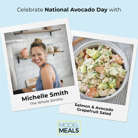 Model Meals | Michelle Smith's Salmon Avocado Salad