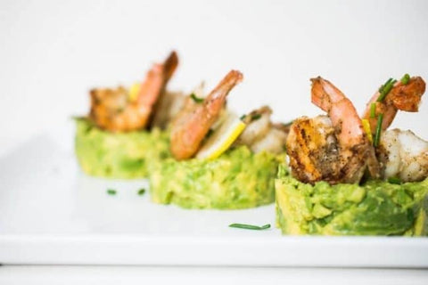Grilled Avocado Stacks from The Castaway Kitchen