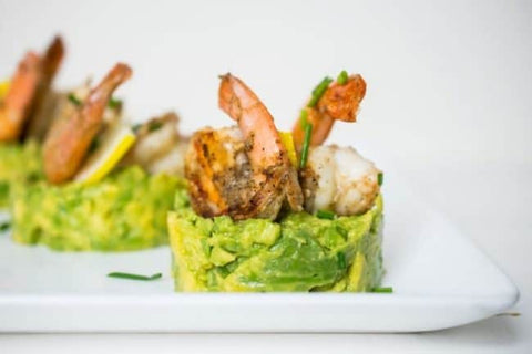 Grilled Shrimp and Avocado Stacks from The Castaway Kitchen