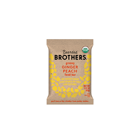 bearded brothers: ginger peach