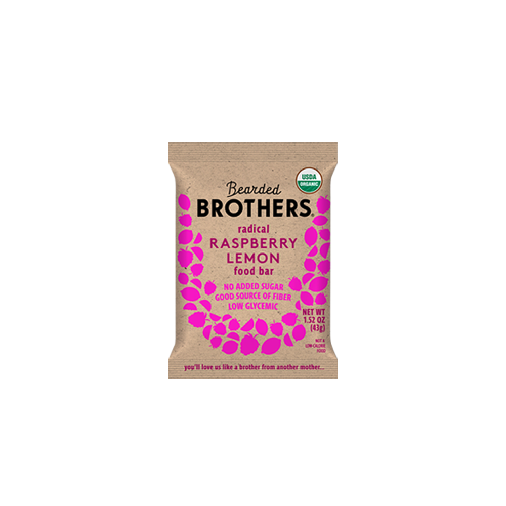 bearded brothers: raspberry lemon