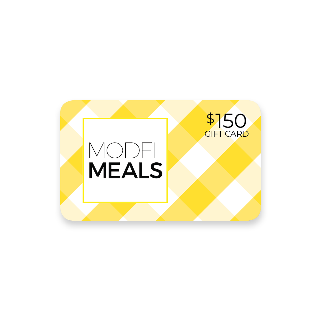 $150 Model Meals Gift Card