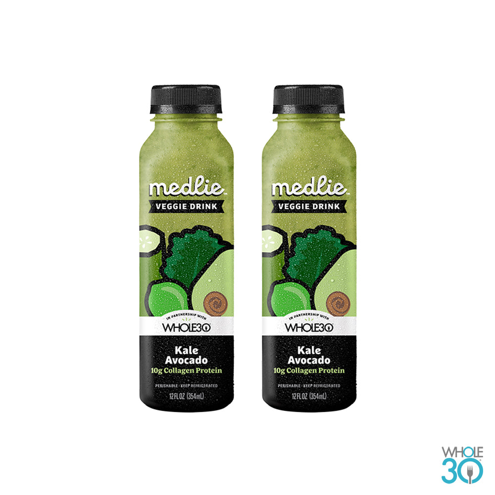 Medlie: Kale Avocado with Collagen - 2 PACK