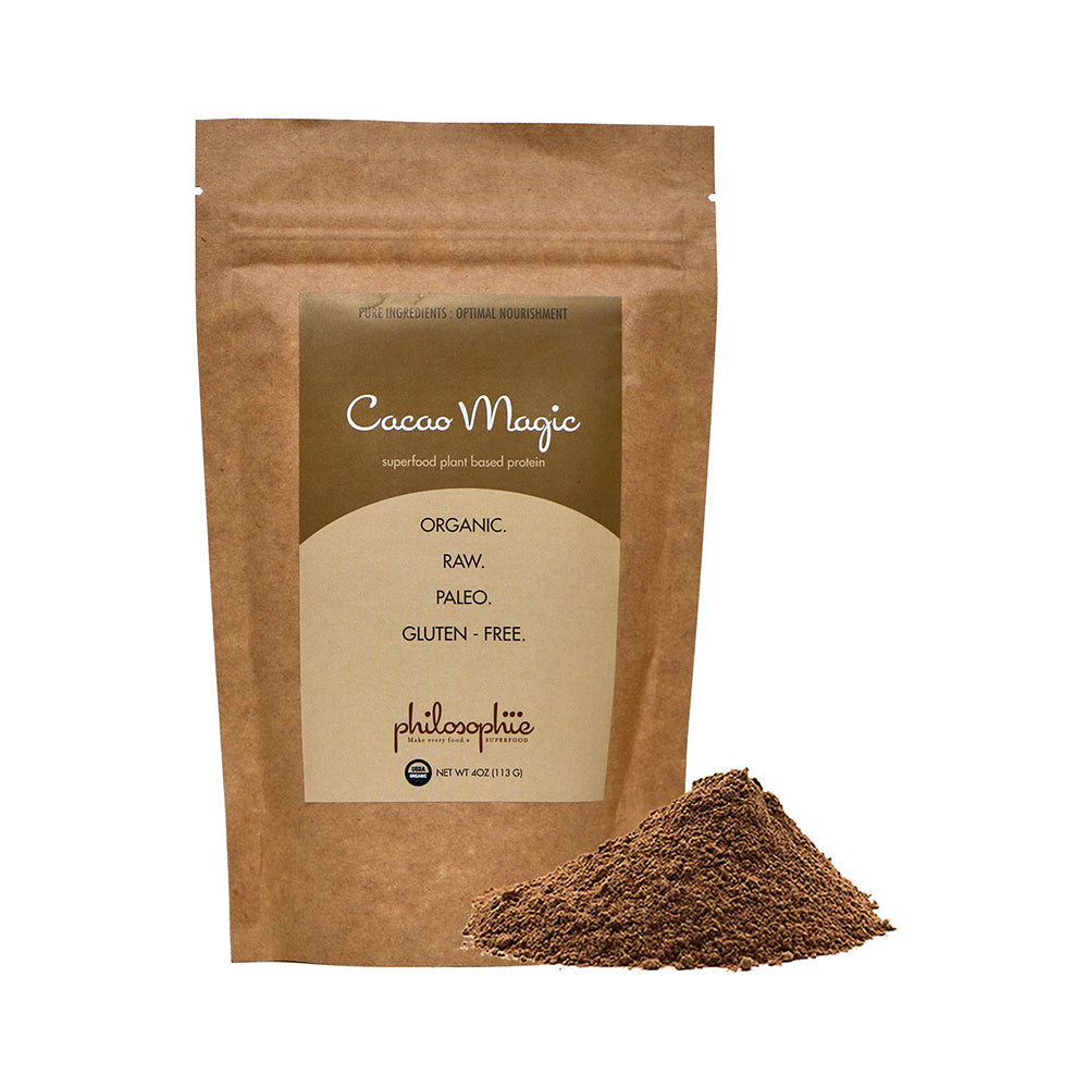 Philosophie: Cacao Magic Superfood Plant Based Protein