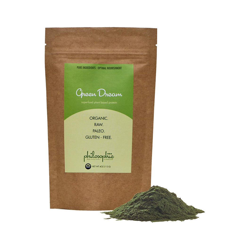 Philosophie: Green Dream Superfood Plant Based Protein