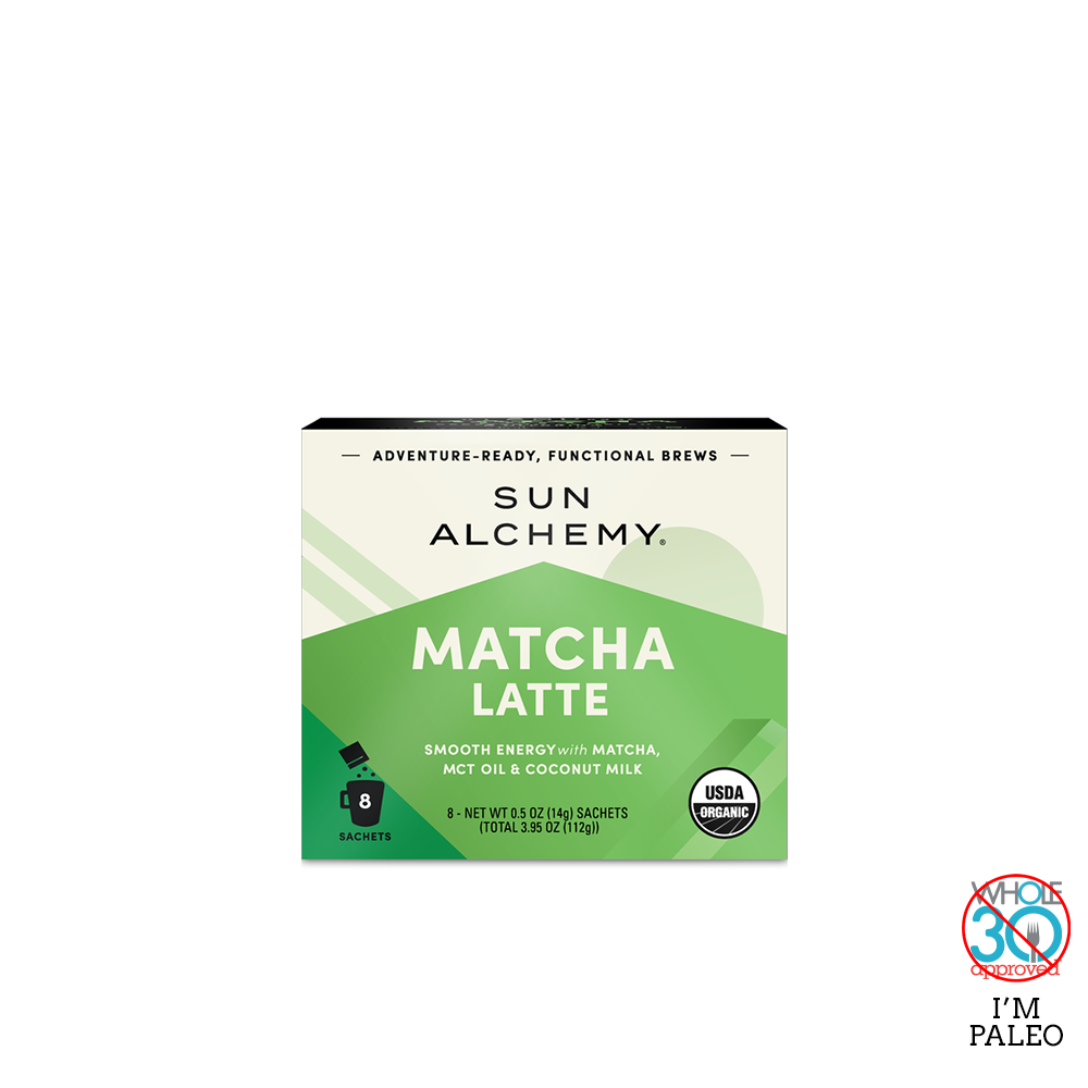 Terrasoul Superfoods Sun Alchemy Matcha Latte - Box
