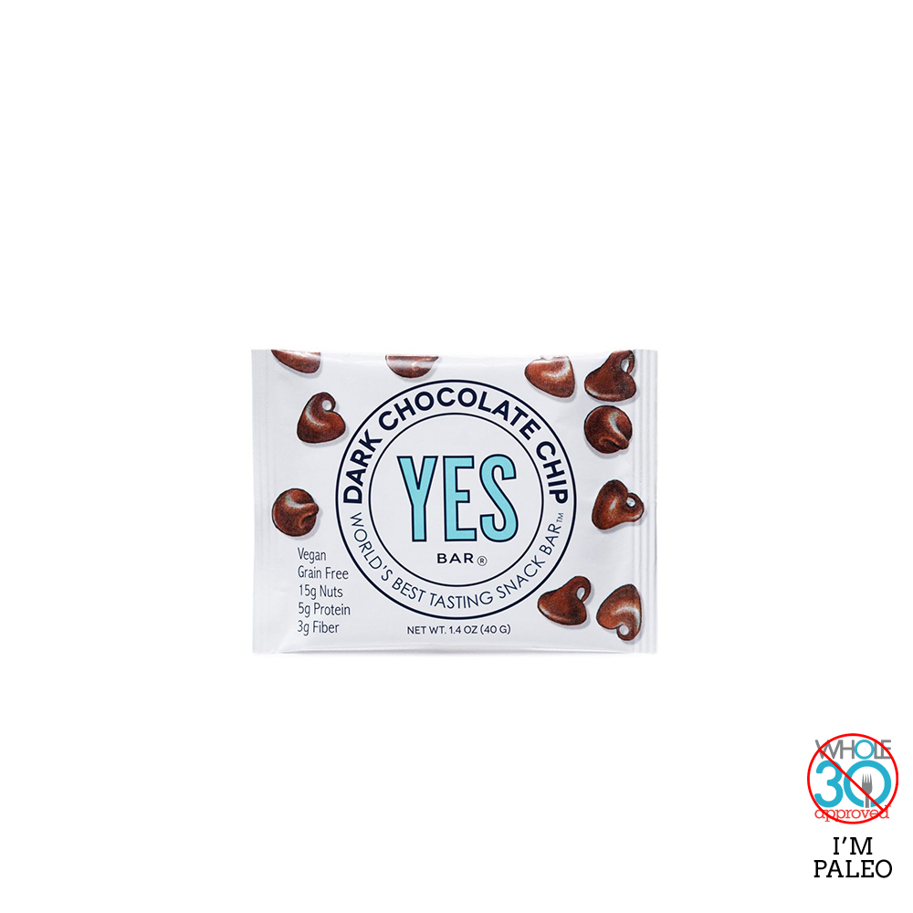 YES BAR: Dark Chocolate Chip