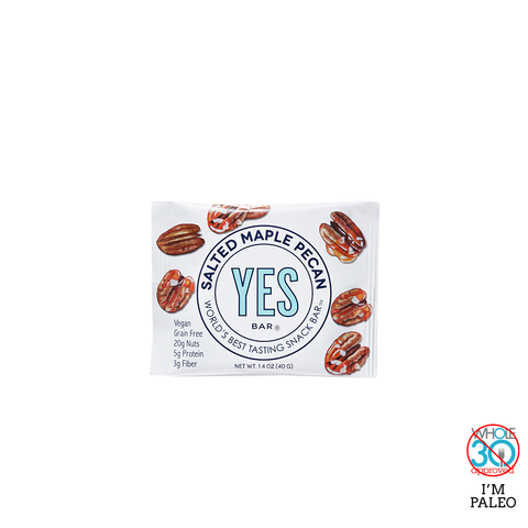 YES BAR: Salted Maple Pecan