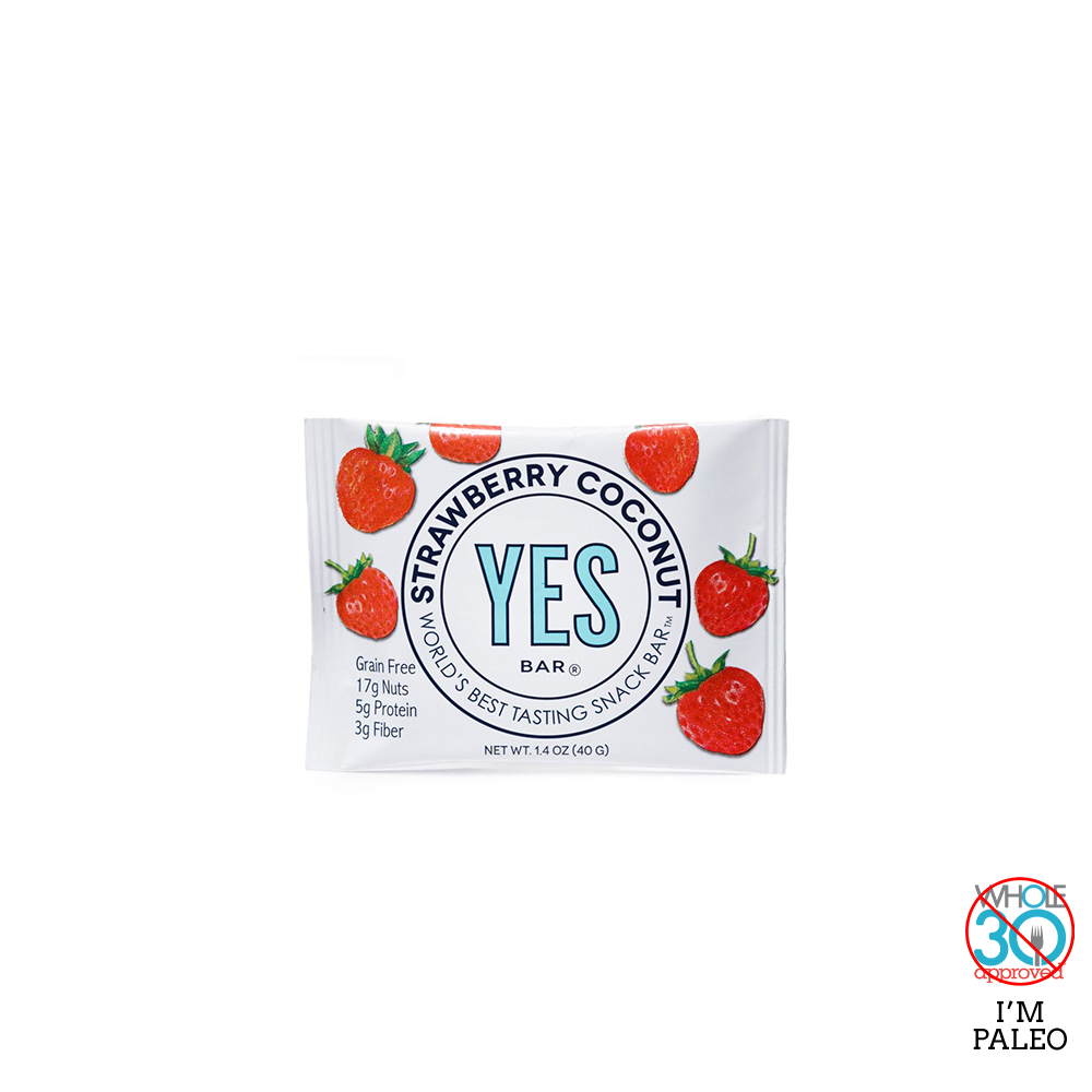 YES BAR: Strawberry Coconut