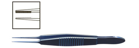 TMF901 Dressing Straight Forceps, Titanium - Titan Medical Instruments