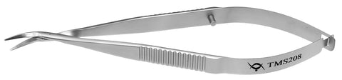 TMS208 Castroviejo Corneal Scissors Right - Titan Medical Instruments