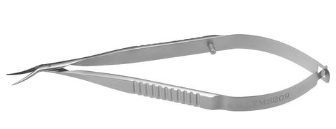 TMS209 Castroviejo Corneal Scissors Left - Titan Medical Instruments