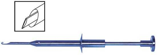 TMS505 Stolte Soft IOL Cutter and Extractor - Titan Medical Instruments