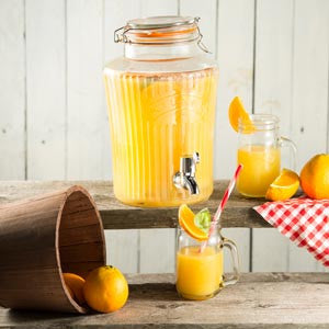 Dispenser til punch - juicer - saft 5 liter