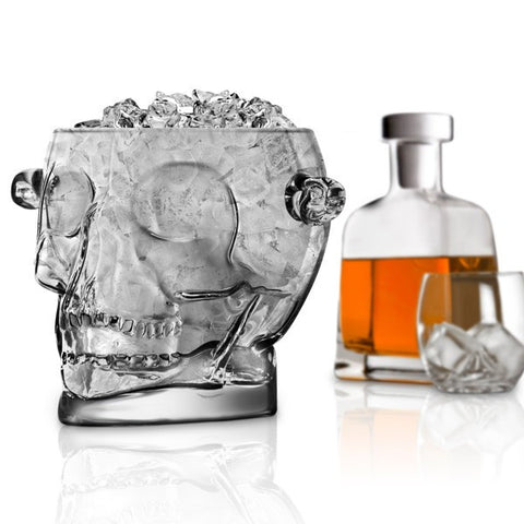 Kranieisspand - Brain Freeze Skull Isspand