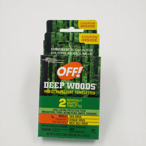 Off Wipes 2 pk