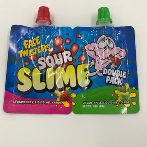 Sour Slime Liquid Gel Candy Asstd
