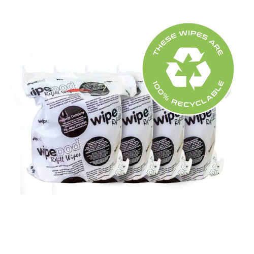 1250 Sheet Per Roll (4 Rolls per Box) With Lemon Antibacterial Multi-Purpose Wet Wipes