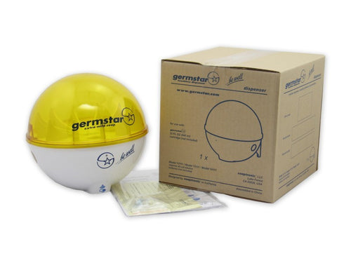 Germstar® Touchless Degreaser Dispenser white/yellow