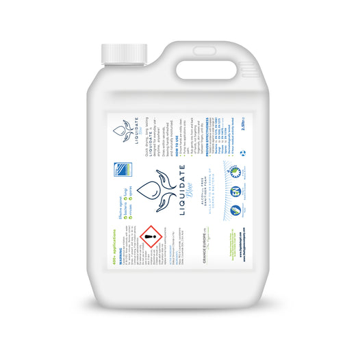 (2 per box) 2.5 litres - Liquidate Hand sanitiser Refill Containers