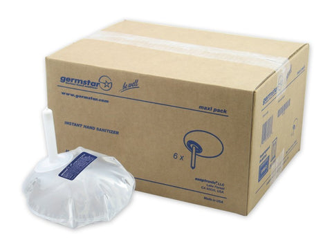 Germstar® Original Maxi-Packs 6 x 1-litre refill bags per box