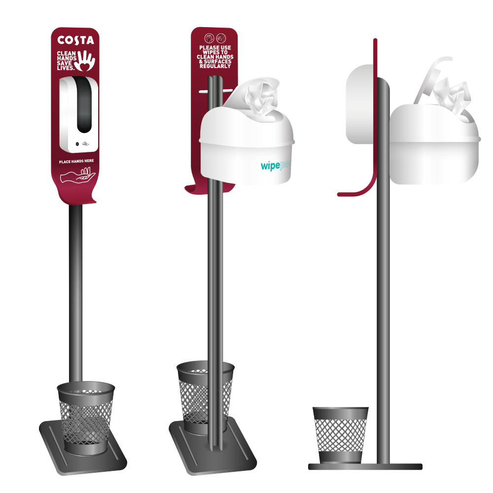 Costa 3 in 1 Cleaning Station