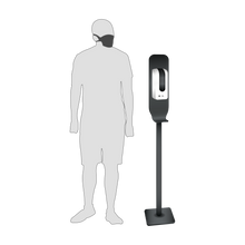 Load image into Gallery viewer, Floor Stand for Automatic Hand Sanitiser dispensers (Optional Branding)