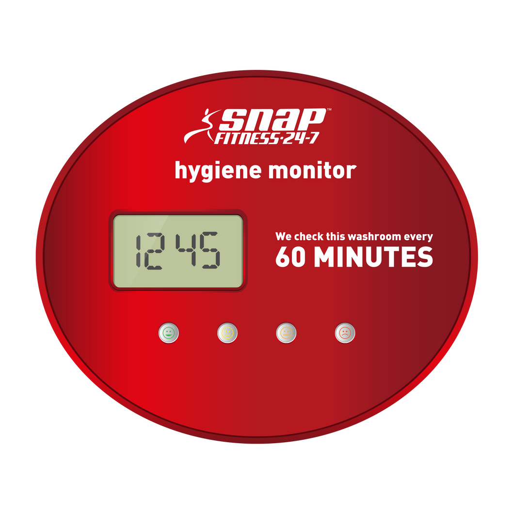 Snap Fitness Hygiene Monitor