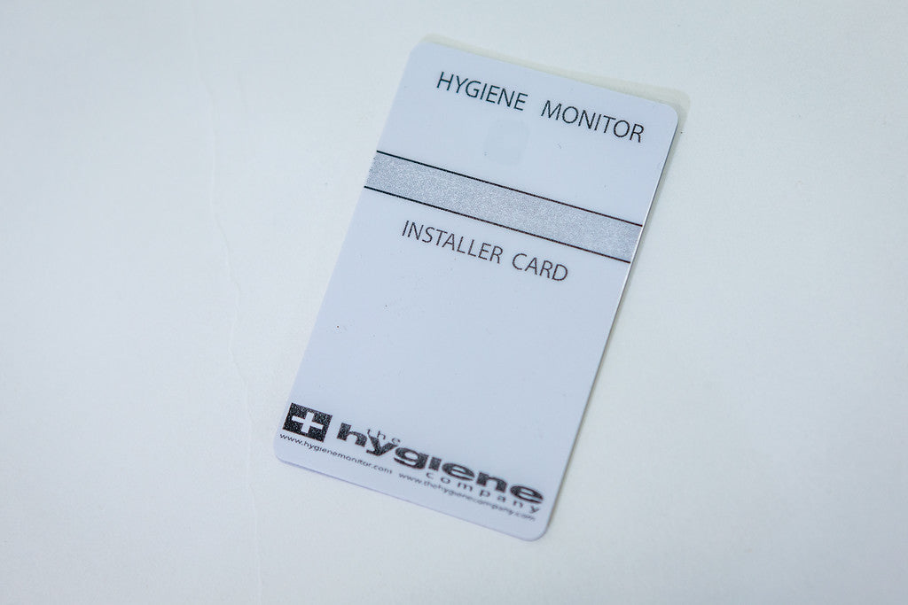Hygiene Monitor Parts: Hygiene Monitor Installer Card