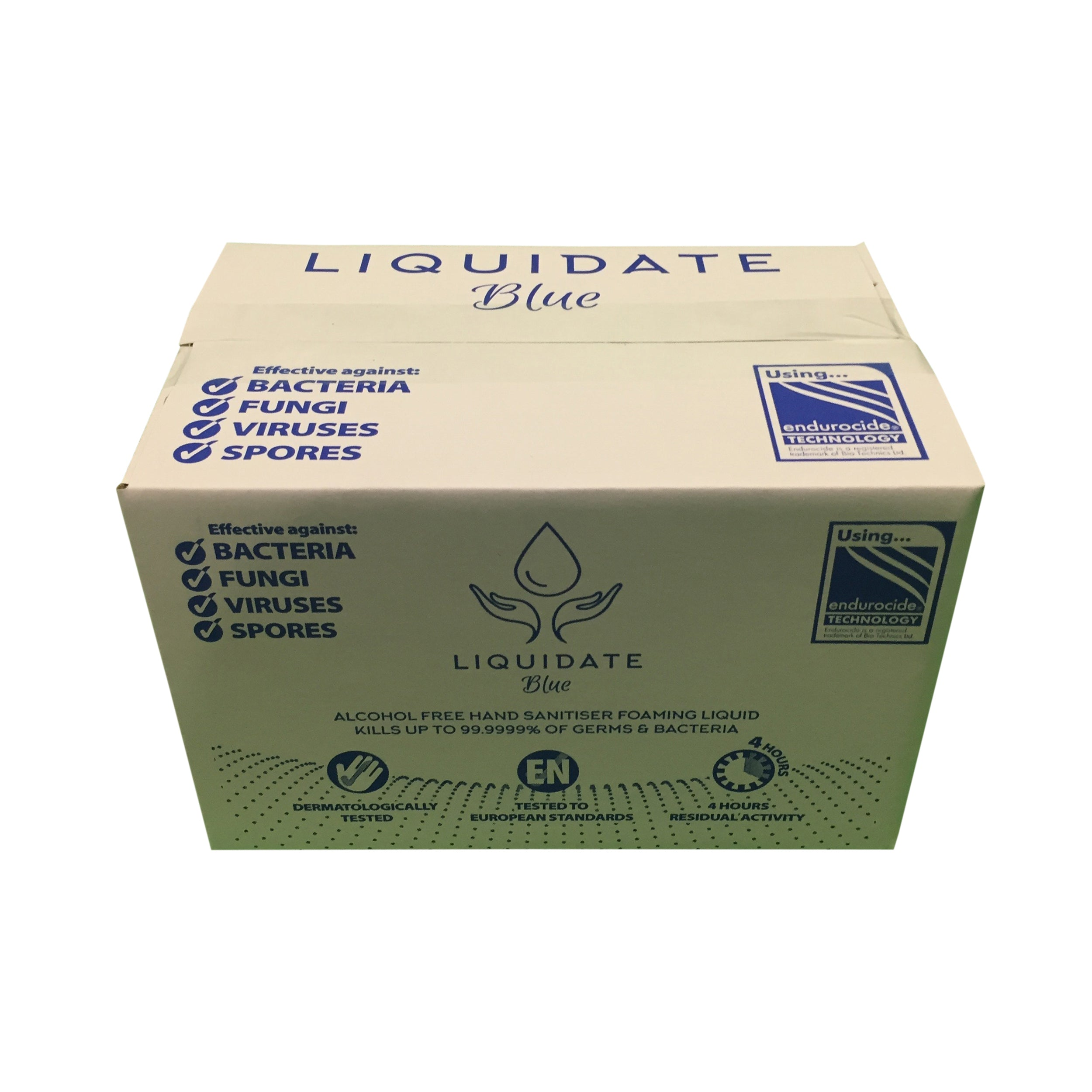 Liquidate Alcohol free Hand Foamer sanitiser 200ml bottles / 24 units per case