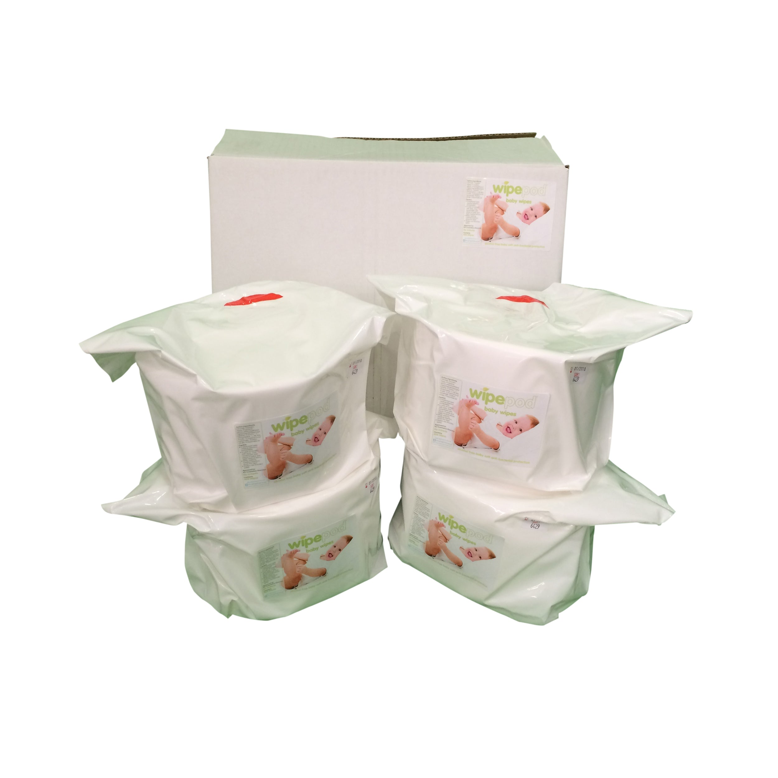 Wet Wipes: 400 Sheet Baby Wipes 140x235mm ( 4 rolls per box )