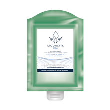 Load image into Gallery viewer, Liquidate Blue Alcohol FREE Hand sanitiser, foamer: Refill Pouch 800ml x 12 units