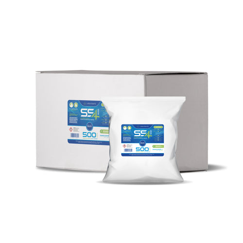 Large 500 Sheets Per Roll (6 Rolls per Box) Hygiene Wipes Multipurpose Antibacterial Wet Wipes