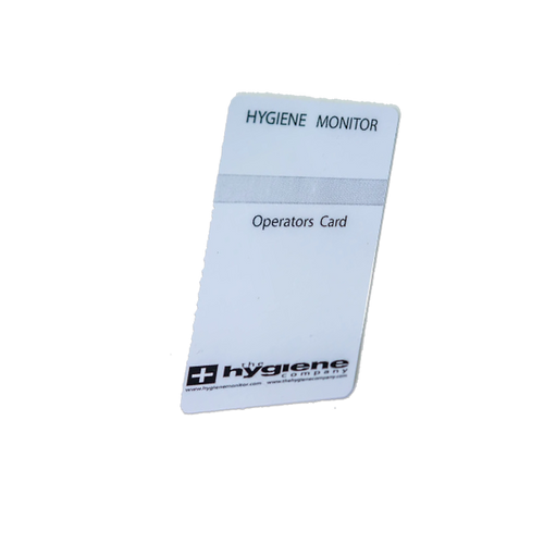 Hygiene Monitor Parts: Hygiene Monitor Operator Smart Card