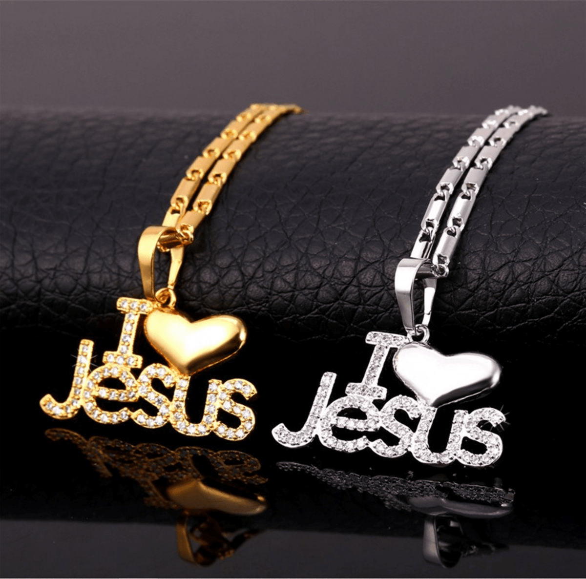 I Love Jesus Necklaces - Living Christian - 1