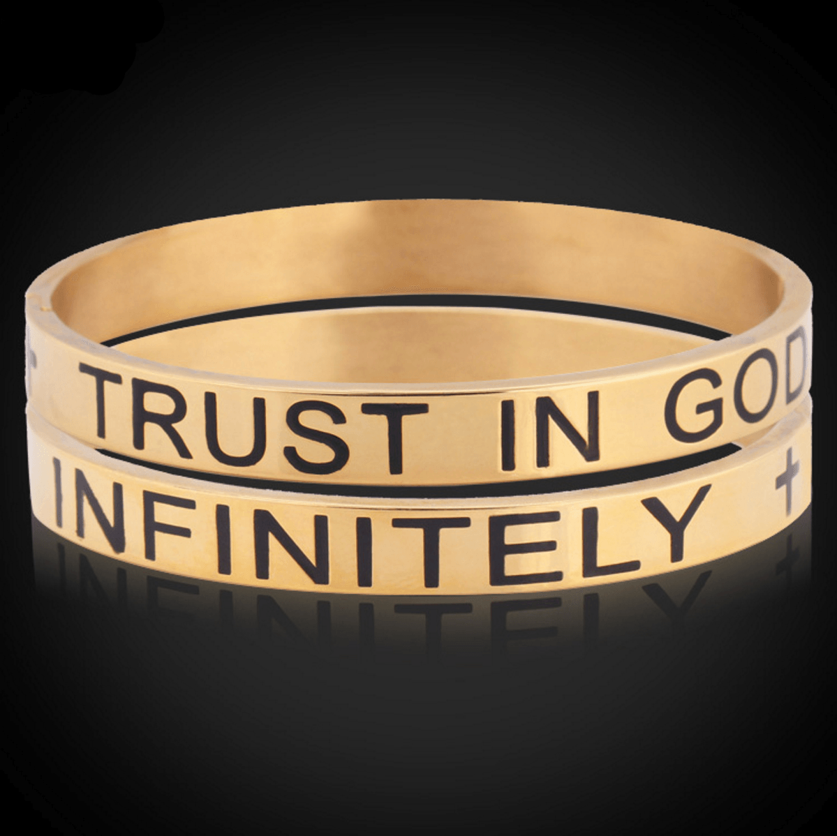 Trust In God Infinitely Bracelet - Living Christian - 1