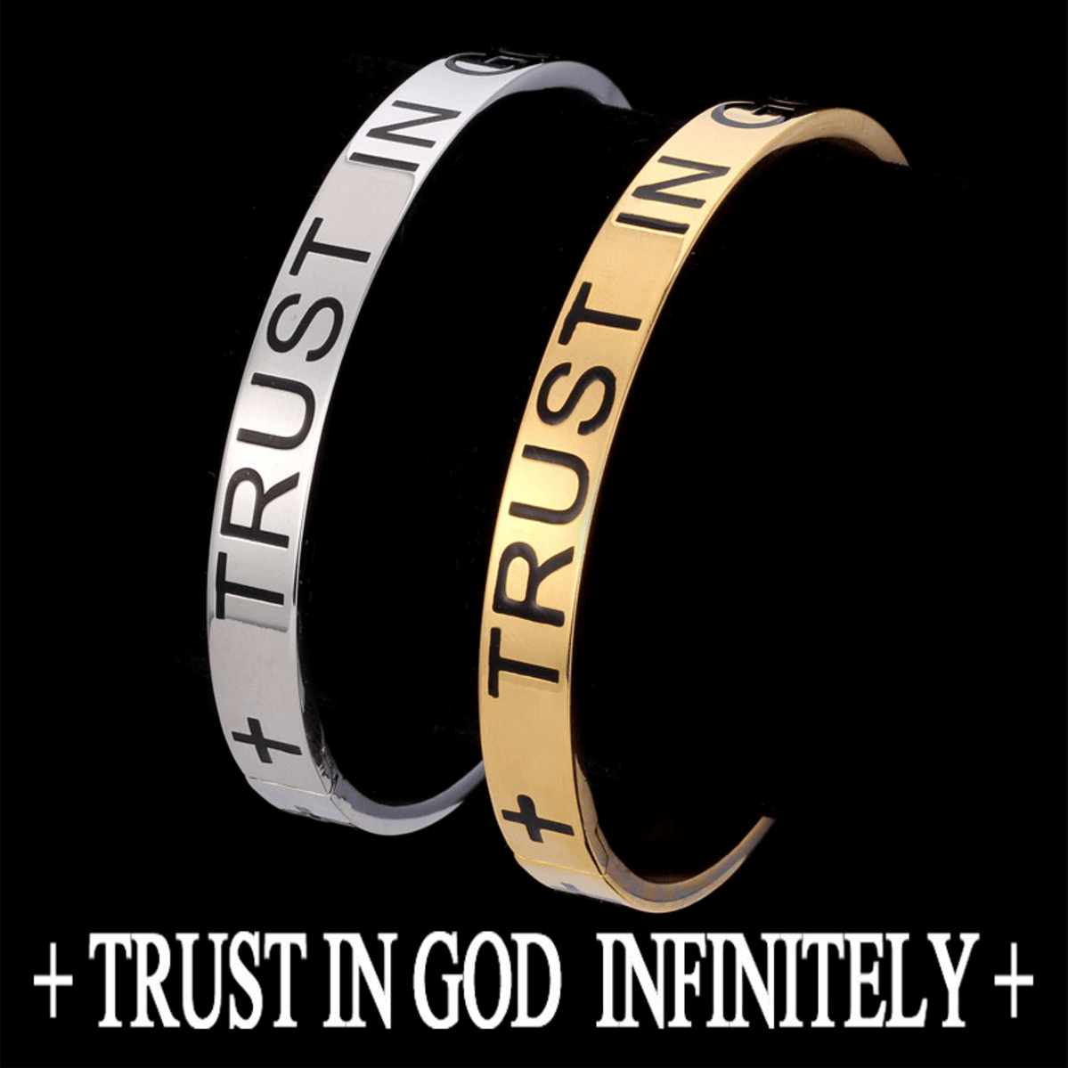 Trust In God Infinitely Bracelet - Living Christian - 4