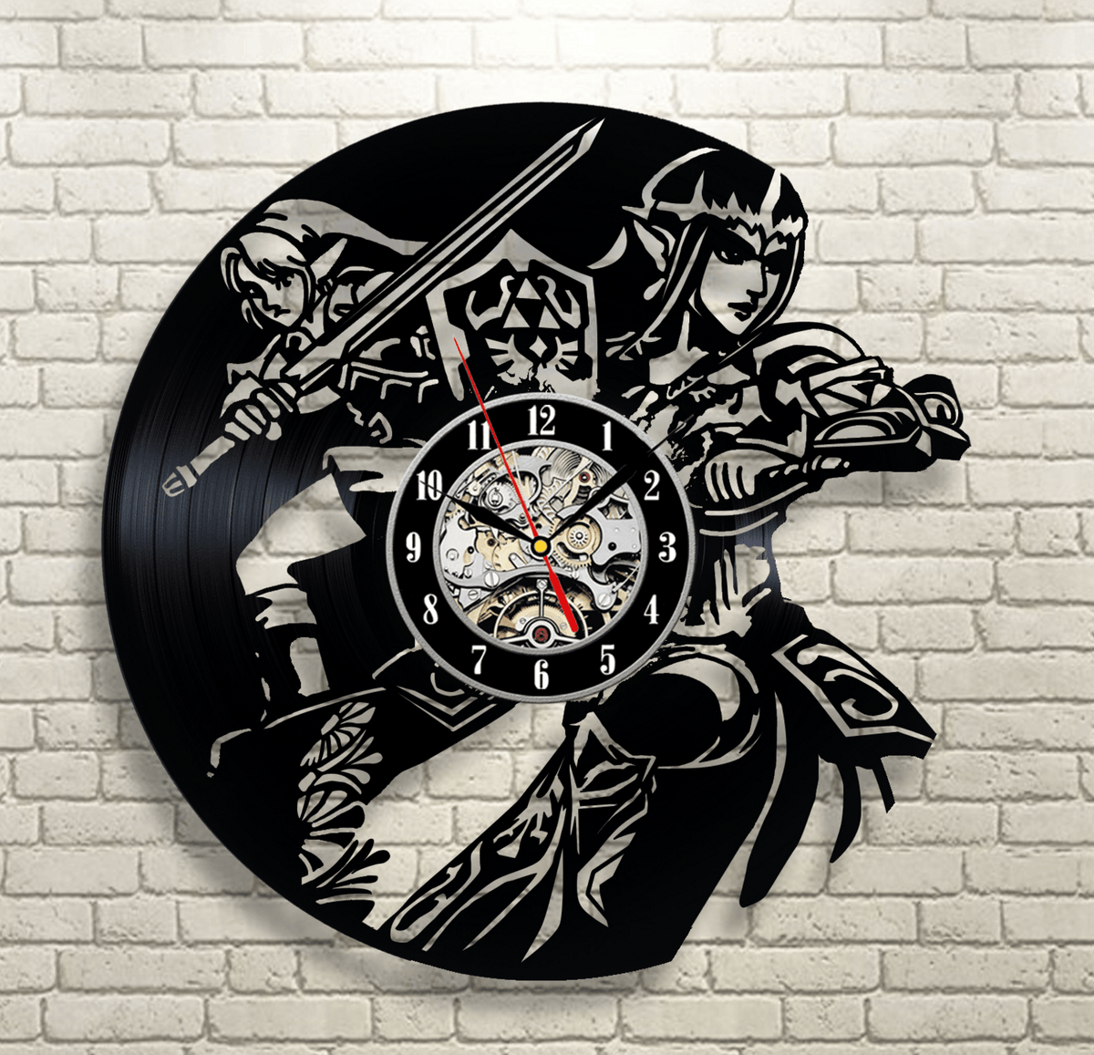 Legend of Zelda Vinyl Record Wall Clock