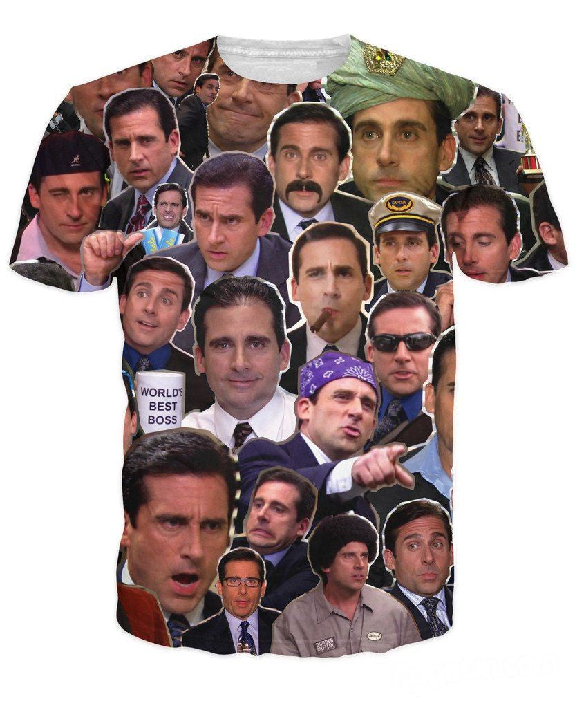 The Many Faces of Michael Scott Shirt