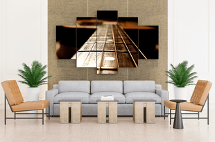 Acoustic Guitar Canvas Art