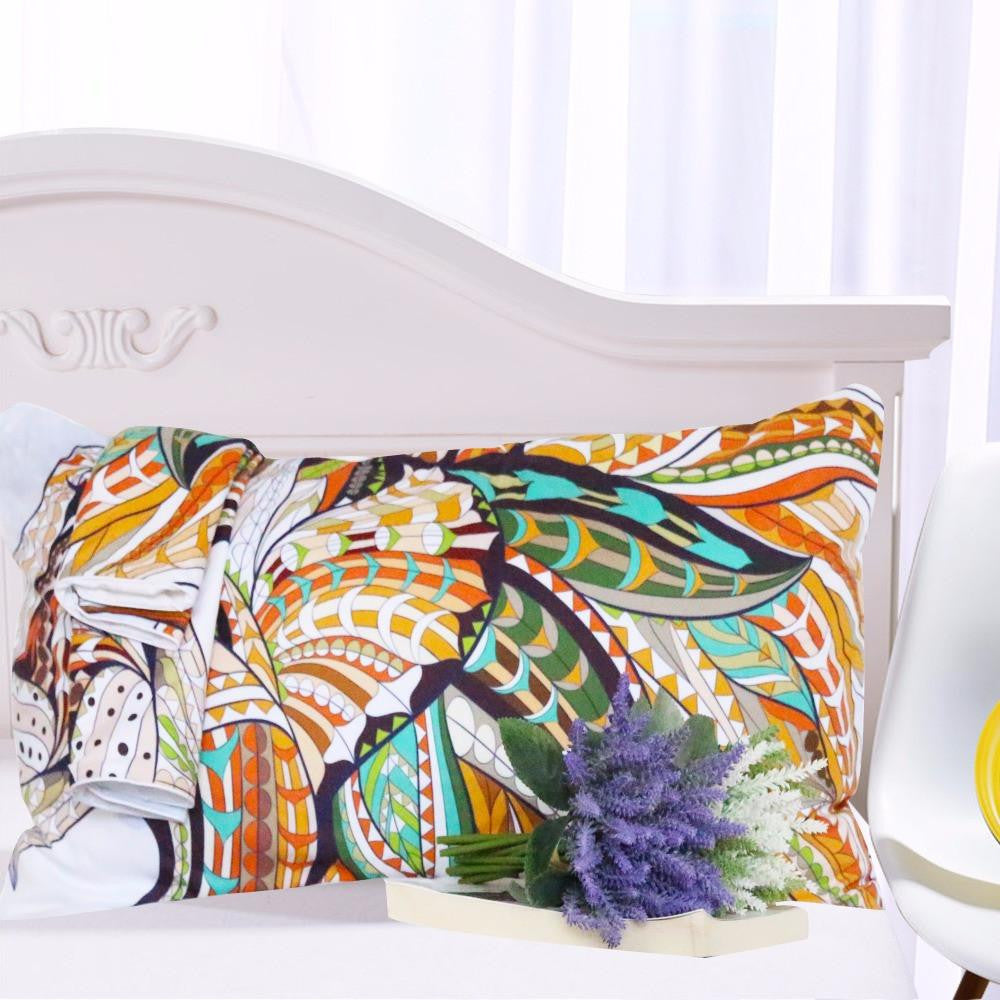 Boho Tribal Lion Bed Set