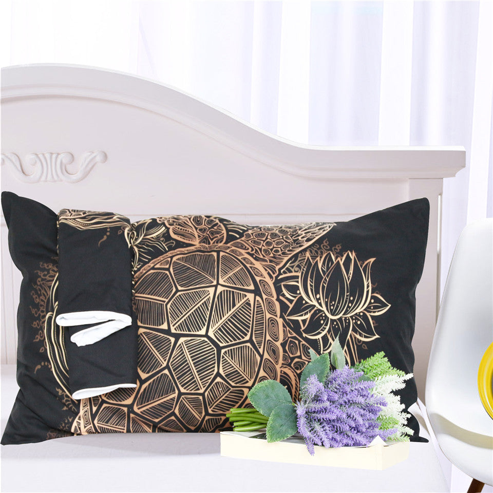 Golden Tortoise Bed Set
