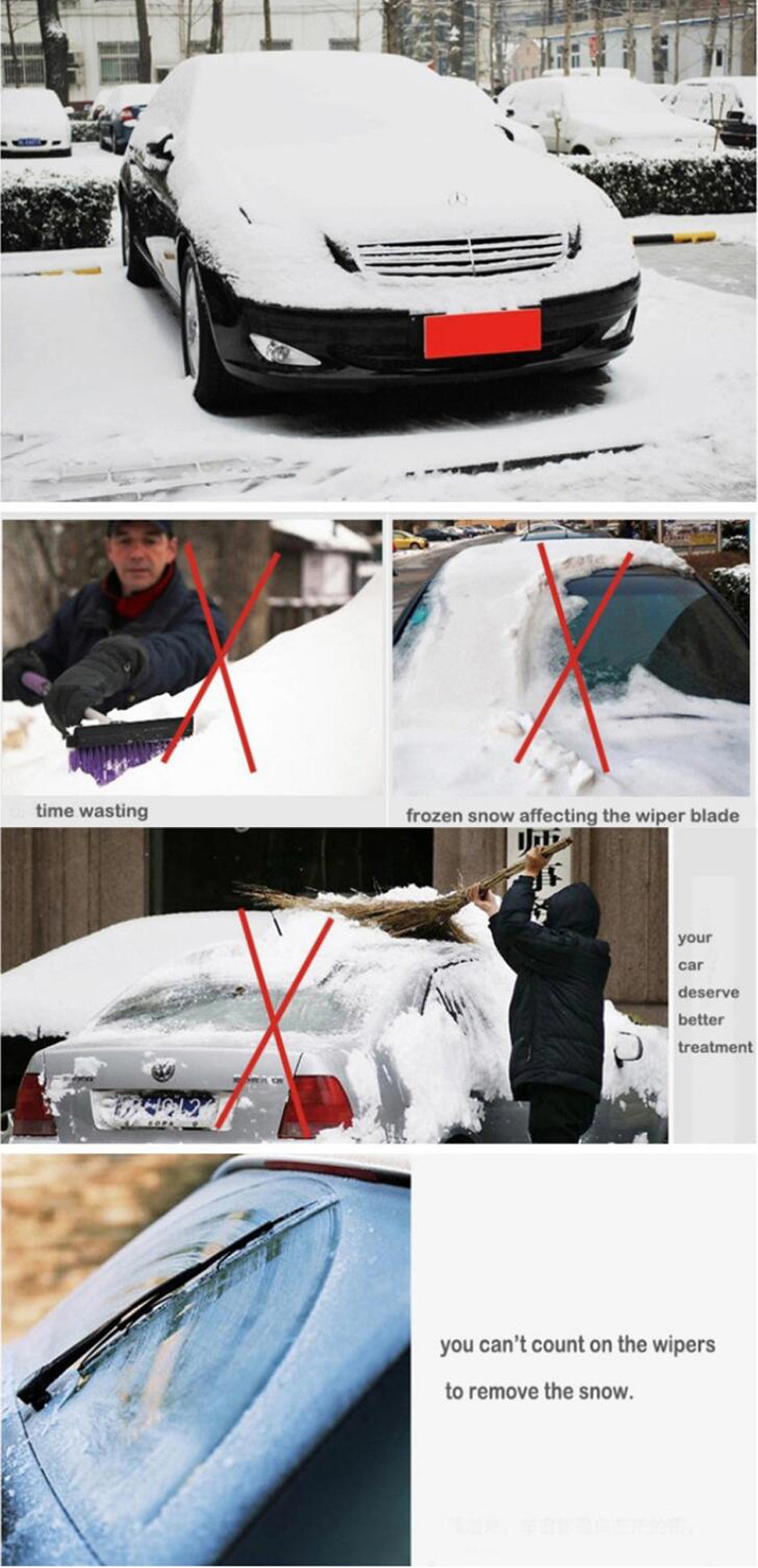 4 Season Smart Windshield Cover