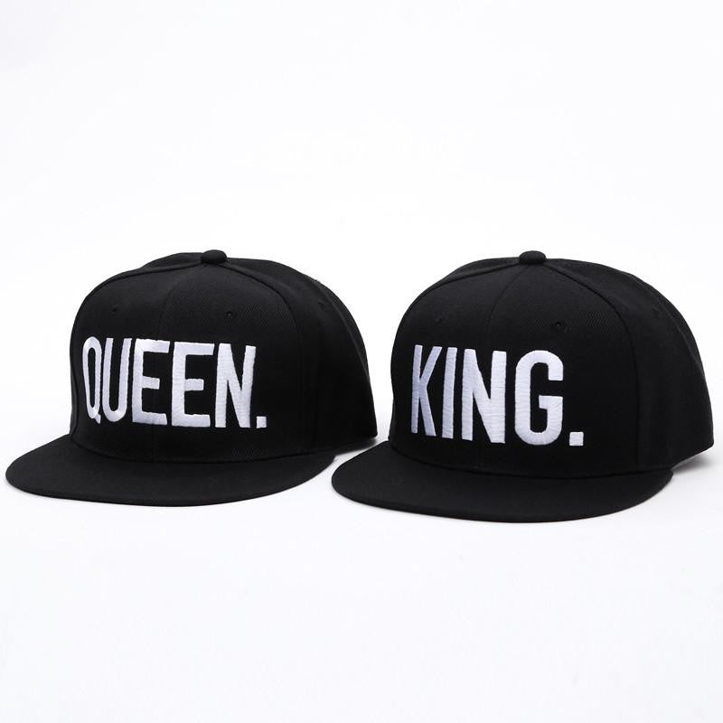 4ec8f33b69f King   Queen Embroidered Snapback Hats – The Distinguished Nerd