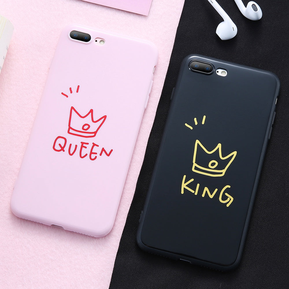 new product 477df 61033 King / Queen iPhone Cases