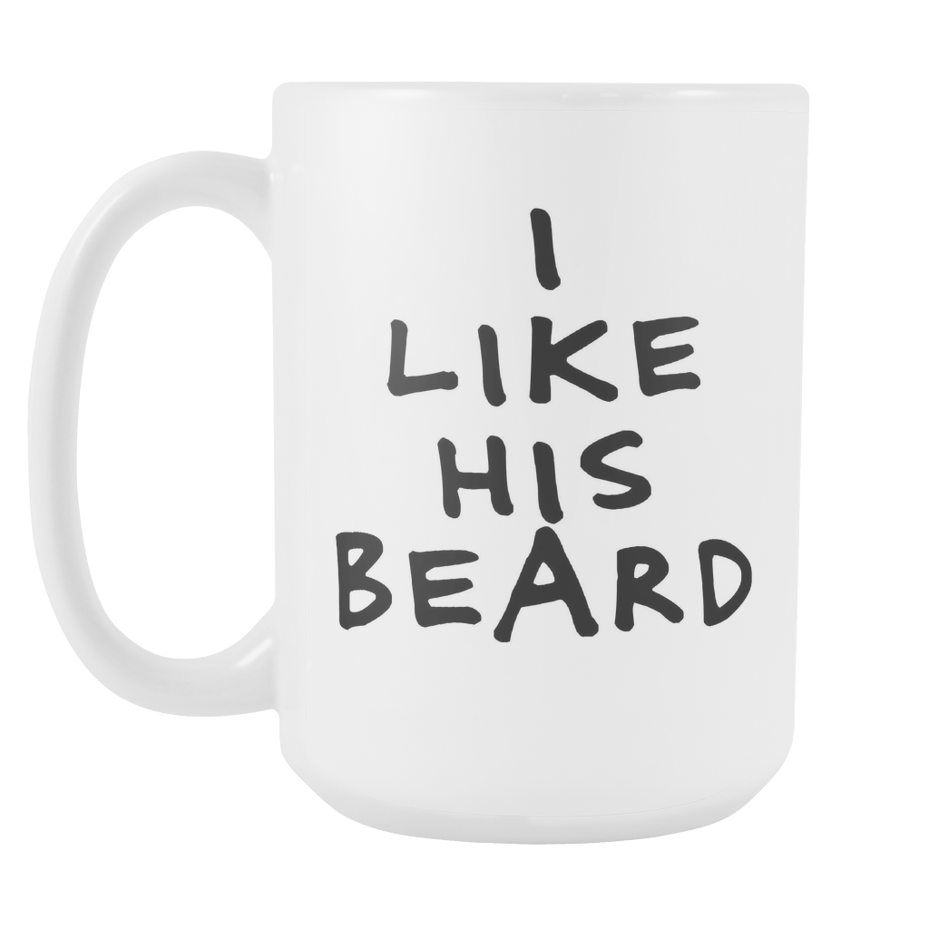 His Butt/His Beard Mug Set - 15oz