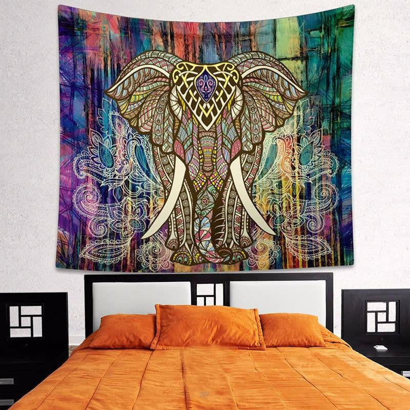 Elephant Wall Tapestry
