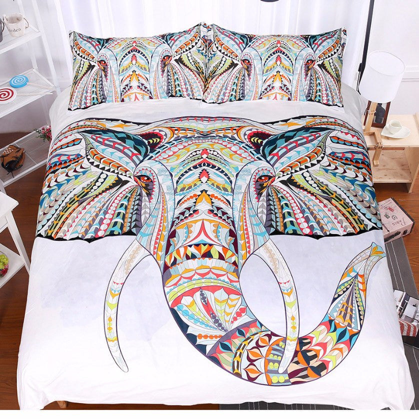 White Elephant Bed Set
