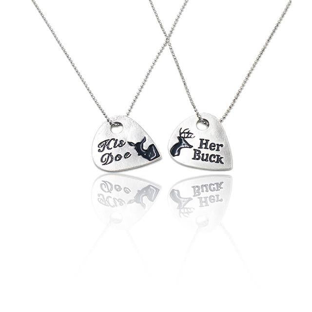 98fd7a28f1 Her Buck/His Doe Couples' Necklace Set – The Distinguished Nerd