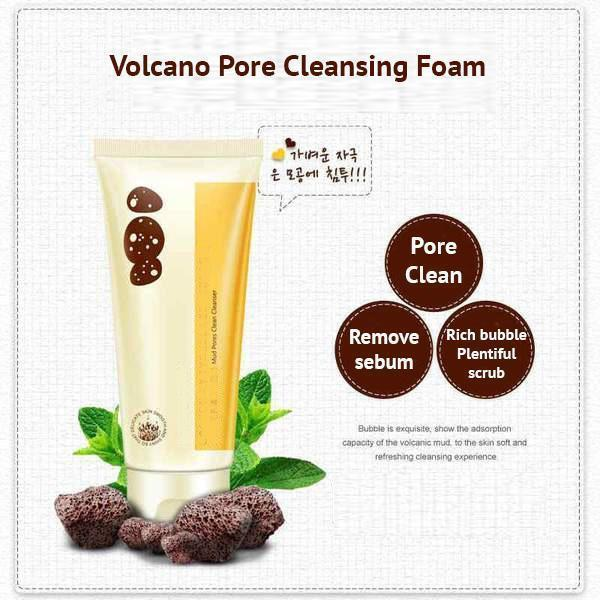 Volcanic Mud Foam Cleanser